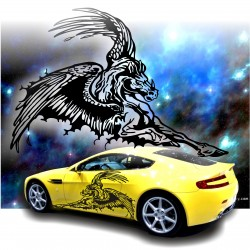 Adesivi auto tuning stickers decalcomanie PEGASUS 2