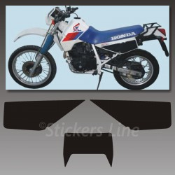 Kit adesivi TABELLE Honda XL 600 RM 1986/90 stickers xl 600 decal x carena moto White
