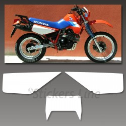 Kit adesivi TABELLE Honda XL 600 RM 1986/90 stickers xl 600rm decal x carena red
