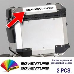 Scritte adesivi BMW Adventure borse bauletto valigie R1200GS bags stickers