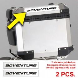 Adesivi BMW Adventure stampa borse bauletto valigie R1200GS bags stickers