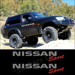 Adesivi stickers fuoristrada NISSAN Sport 4x4 Patrol Terrano Navara off road