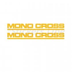 Adesivi MONOCROSS forcella TENERE 600 forcellone YAMAHA Tenerè XT600Z 3AJ 1988