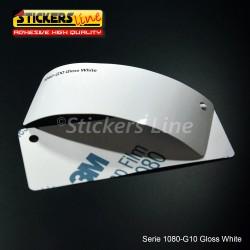 Pellicola adesiva 3M bianco lucido serie 1080 cod. G10 adesivo bianco cast film gloss white car wrapping auto moto