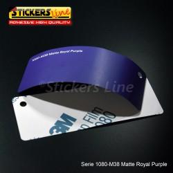 Pellicola adesiva 3M viola opaco serie 1080 cod. M38 adesivo cast film matte violet car wrapping auto moto