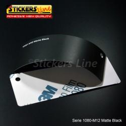 Pellicola adesiva 3M nero opaco serie 1080 cod. M12 adesivo cast film matte black car wrapping auto moto