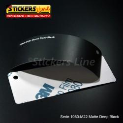Pellicola adesiva 3M nero intenso opaco serie 1080 cod. M22 adesivo cast film matte black car wrapping auto moto