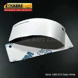Pellicola adesiva 3M bianco satinato serie 1080 cod. S10 adesivo cast film satin white car wrapping auto moto