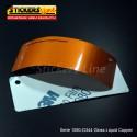 Pellicola adesiva 3M rame metallizzato lucido serie 1080 cod. G344 adesivo cast film gloss copper car wrapping auto moto