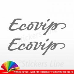 2 Adesivi per camper Laika Ecovip adesivo decalcomanie scritte adesive caravan