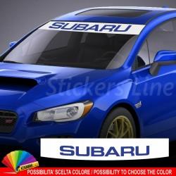Fascia parasole SUBARU Impreza VRX STI adesivo parabrezza striscia anteriore