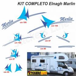 Kit completo adesivi per Camper MC LOUIS GLEN 560vv McLouis Linea Professionale