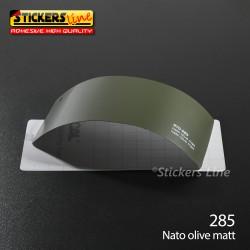 Pellicola adesiva Oracal Verde oliva opaco serie 970 cod. 285 adesivo verde oliva cast film gloss white car wrapping auto moto