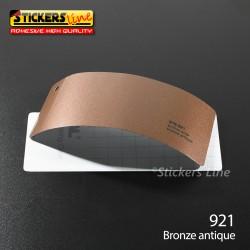 Pellicola adesiva bronzo antico metallizzato serie 970 cod. 921 adesivo bronzo cast film gloss bronze car wrapping auto moto