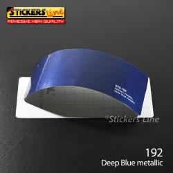 Pellicola adesiva blu metallizzato serie 970 cod. 192 adesivo blu cast film gloss deep blue car wrapping auto moto