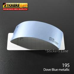 Pellicola adesiva blu metallizzato serie 970 cod. 195 adesivo blu cast film gloss dove blue car wrapping auto moto