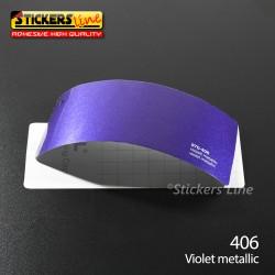 Pellicola adesiva viola metallizzato serie 970 cod. 406 adesivo viola cast film gloss violet car wrapping auto moto