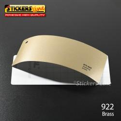 Pellicola adesiva ottone metallizzato lucido serie 970 cod. 922 adesivo ottone cast film gloss brass car wrapping auto moto