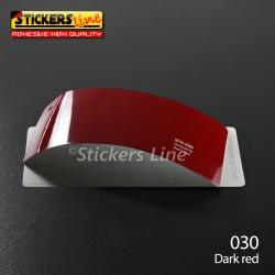 Pellicola adesiva Oracal rosso lucido serie 970 cod. 030 adesivo rosso cast film gloss dark red car wrapping auto moto