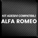 ADESIVI ALFA ROMEO